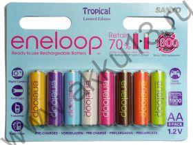 Sanyo Eneloop AA (HR-3UTGB-8BP Tropical 1900mAh)