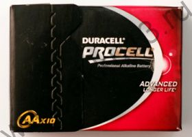 Duracell ProCell AA 10шт